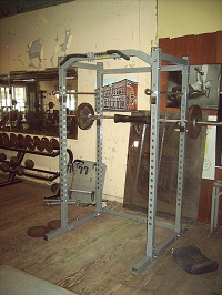 power rack.