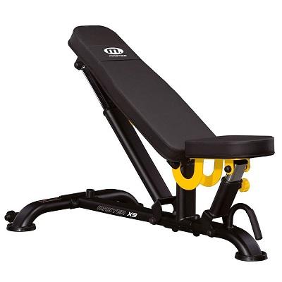 Master Fitness Bench X3 den bästa träningsbänken
